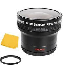 Bower 0.16x AF Fisheye Lens for Nikon Coolpix P900 Digital C
