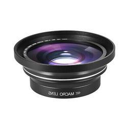 0.39X 30/37mm Full HD Wide Angle Macro Lens fr Ordro Andoer