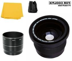 Bower 0.42x Panoramic FISHEYE Lens for Nikon Coolpix P7000 P