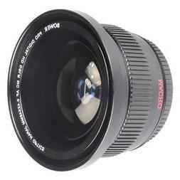 Bower 0.42x Wide Angle Fisheye Lens for Sony Alpha A3000 A50
