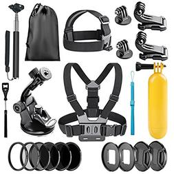 Neewer 22-in-1 Action Camera Accessory Kit for GoPro Hero 6