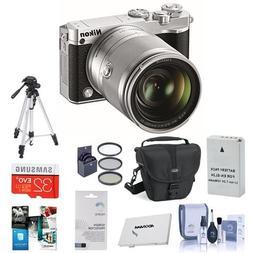 Nikon 1 J5 Mirrorless Digital Camera with 1 Nikkor10-100mm V