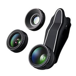 3 in 1 Camera Lens Kit  with 230 Degree Fisheye Lens & 15X S