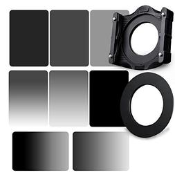 Zomei 10 in 1 Square Z-PRO Series Filter Holder Support + Ad