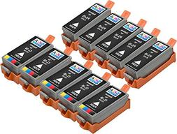 10 pack Skia Ink Cartridges for PIXMA iP110