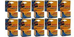 10 Rolls Kodak GC 135-24 Max 400 Color Print 35mm Film ISO 4