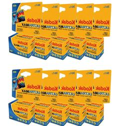 10 Rolls Kodak Ultra Max GC 135-36 ISO 400 35mm Color Print