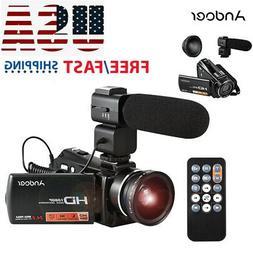 1080P Full HD 24MP Digital Video Camera Camcorder DV Night V