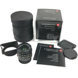 Leica 11604 Summicron-M 28mm f2 ASPH. 6-Bit Lens for M-Mount
