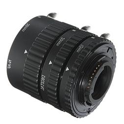 FOTGA 12mm+20mm+36mm Macro AF Auto Focus Extension Tube Set