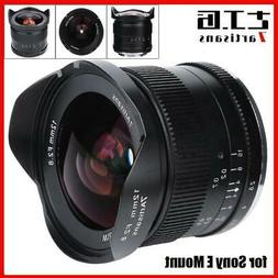 7artisans 12mm F2.8 APS-C Wide Angle Manual Fixed Lens for S
