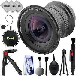 Opteka 15mm f4 Ultra Wide Macro Lens for Canon Digital SLR C