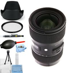 Sigma 18-35mm f/1.8 DC HSM Art Lens for Canon EF USA Model w