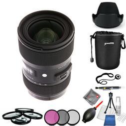 Sigma 18-35mm f/1.8 DC HSM Art Lens for Canon EF + Filter Ki
