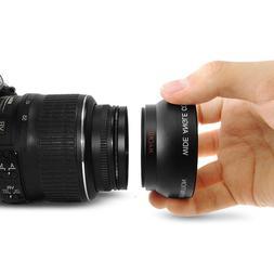 1set 52MM 0.45x Wide Angle Macro <font><b>Lens</b></font> <f