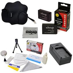 2 Canon LP-E12 LPE12 Replacement Battery Packs 2000mAh Each