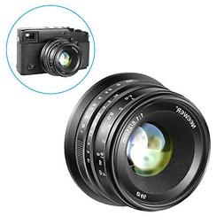 Neewer 25mm Manual Focus Prime Fixed Lens for Fuji XPro2 XE3