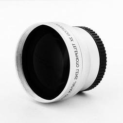 2X 37mm Professional High Speed Telephoto Lens for Camera Ca