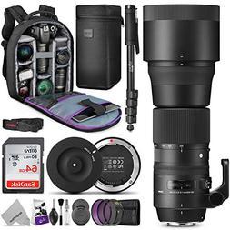 Sigma 150-600mm 5-6.3 Contemporary DG OS HSM Lens for Canon