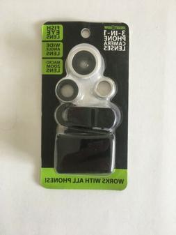 Gadget Gear 3 in 1 Camera Phone Lenses