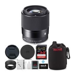 Sigma 30mm f/1.4 DC DN Contemporary Prime Lens for Sony E-Mo