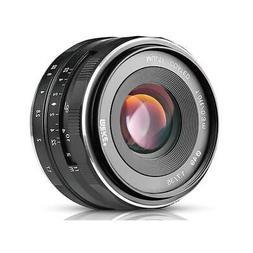 Meike 35mm f/1.7 Lens for Sony E, Black #19540005