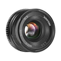 Neewer 35mm F1.2 Manual Focus Prime APS-C Aluminum Lens Comp