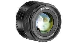 Neewer 35mm F1.2 Manual Focus Prime APS-C Aluminum Lens for