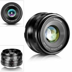 35mm F1.7 Lens for Sony A3000 A6300 A5000 A5100 A6000 A6500