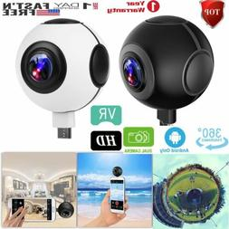 360° HD Dual Fisheye Lens VR Real Time Panorama Camera Camc