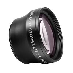 Neewer 37mm 2x Magnification Auto-Focus IR Telephoto Lens Pr