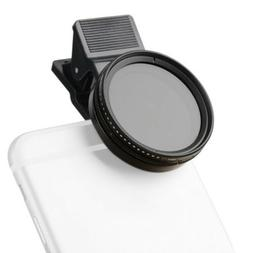 Zomei 37mm Adjustable Neutral Density Clip-on Phone Camera N