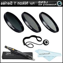 40.5mm Filter Kit For Nikon 1 J1, Nikon 1 V1, Nikon 1 J2, Ni