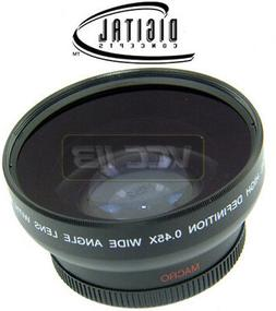 49mm 0.45X Wide-Angle Lens For Sony NEX-C3 NEX-3 NEX-5 NEX5