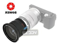 49mm Bower .42x Fisheye W/ Macro Lens 4 Sony Nex 3n a6000 a5