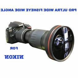 4MM 230° DEDICATED HD ULTRA WIDE FISHEYE MACRO LENS FOR NIK