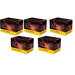 5 Rolls Kodak Ektar 100 135-36 ISO 100 35mm Color Negative F