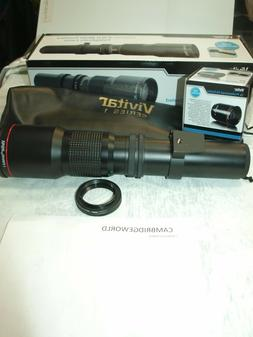 500-1000mm F8.0 VIVITAR SERIES 1 TELEPHOTO LENS OUTFIT for M