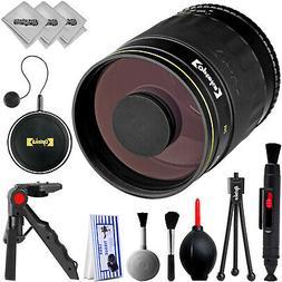 Opteka 500mm f/8 Telephoto Sport & Wildlife Lens for Nikon D