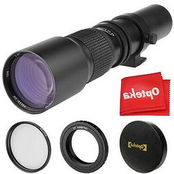 500mm telephoto lens for canon eos ef