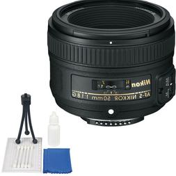 Nikon 50mm f/1.8G AF-S NIKKOR Lens + Accessory Kit for Nikon