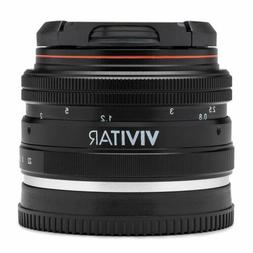 Vivitar 50mm f/2.0 Lens for Sony E Mount Mirrorless Digital