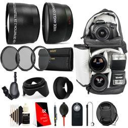 52mm Complete Accessory Kit for Nikon D3300 D3200 D3100 D550