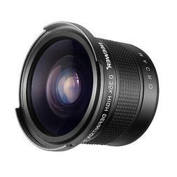 Neewer 55mm 0.35X Fisheye Wide Angle Lens for Nikon D3400 D5