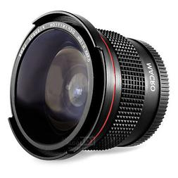 Altura Photo® 58MM 0.35x Fisheye Wide Angle Lens /w Macro f