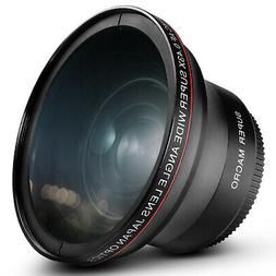Altura Photo® 58MM .43x Wide Angle Lens with Macro for Cano