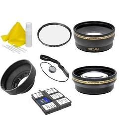 58mm Professional Lens Filter Accessory Kit For Camera & Vid