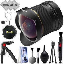 Opteka 6.5mm f3.5 High Definition Aspherical Fisheye Lens fo