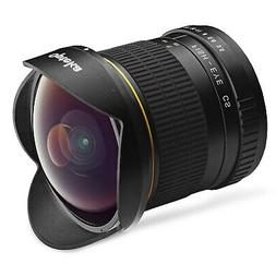 Opteka 6.5mm Fisheye Lens for Nikon D7500 D7200 D7100 D7000