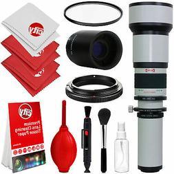 Opteka 650-1300mm  Telephoto Lens for Nikon Digital SLR Came
